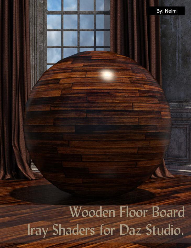 15 Floor Board Iray Shaders - Merchant Resource