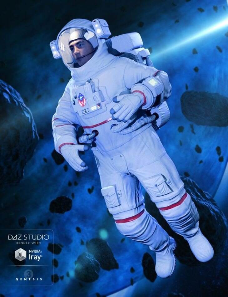 Astronaut for Genesis 3 Male(s)