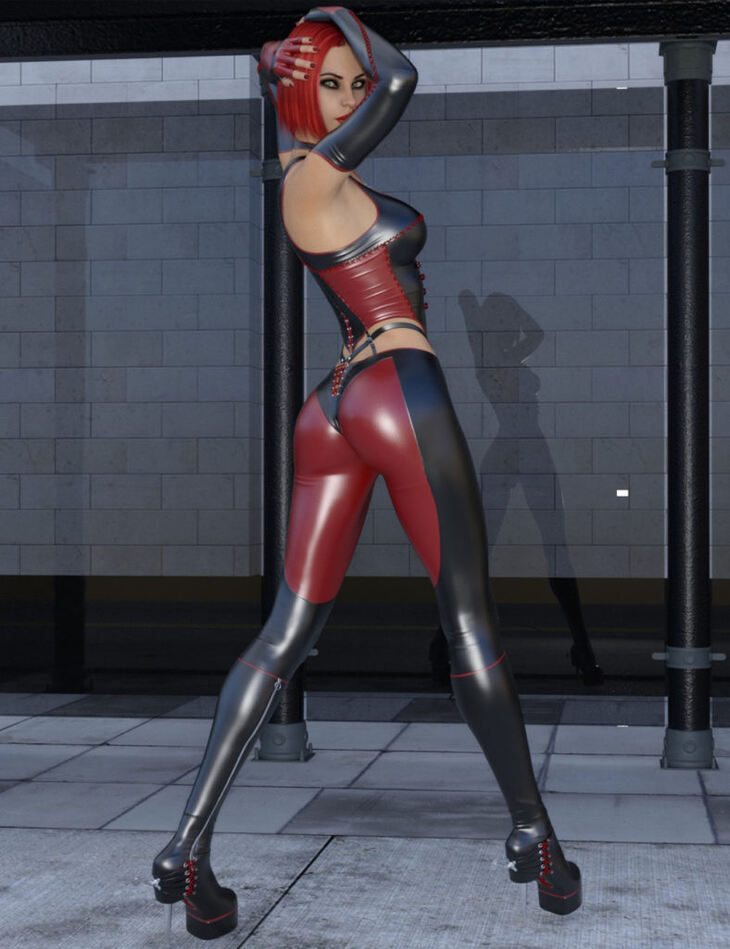 Bad Girl Outfit for Genesis 8 Female(s)