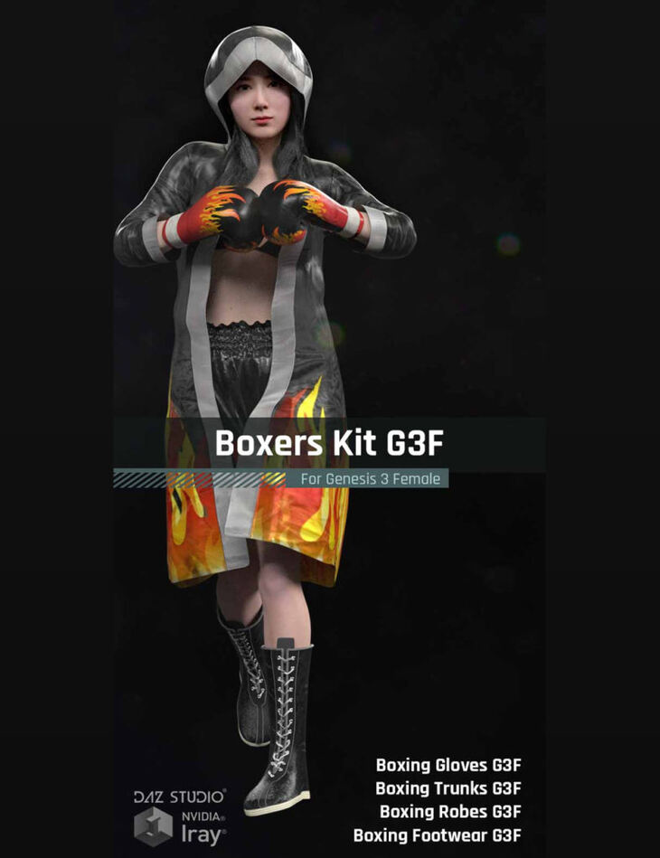 Boxers Kit G3F for Gensis 3 Female