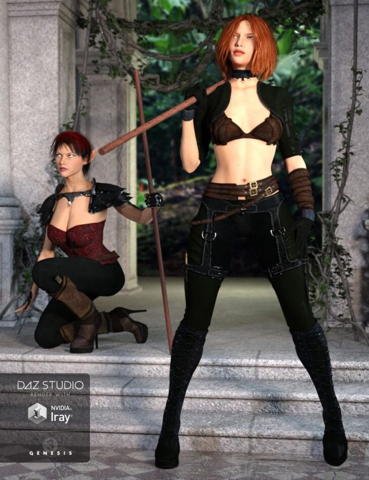 Conflict Poses and Expressions for Genesis 3 Female(s)