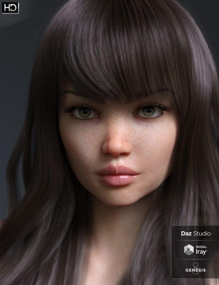 Danae HD for Genesis 8 Female