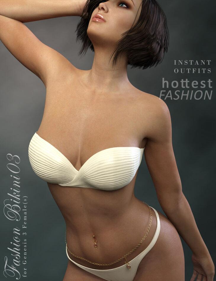Fashion Bikini03 for Genesis 3 Females