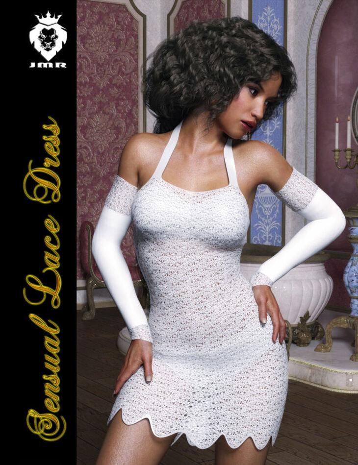 JMR Sensual Lace Dress for G3F