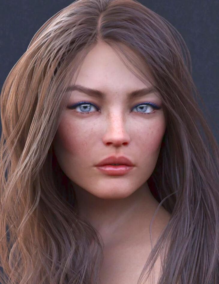 Kiona HD for Genesis 8 Female
