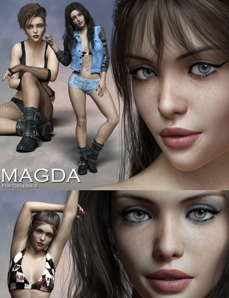 Magda for Genesis 3