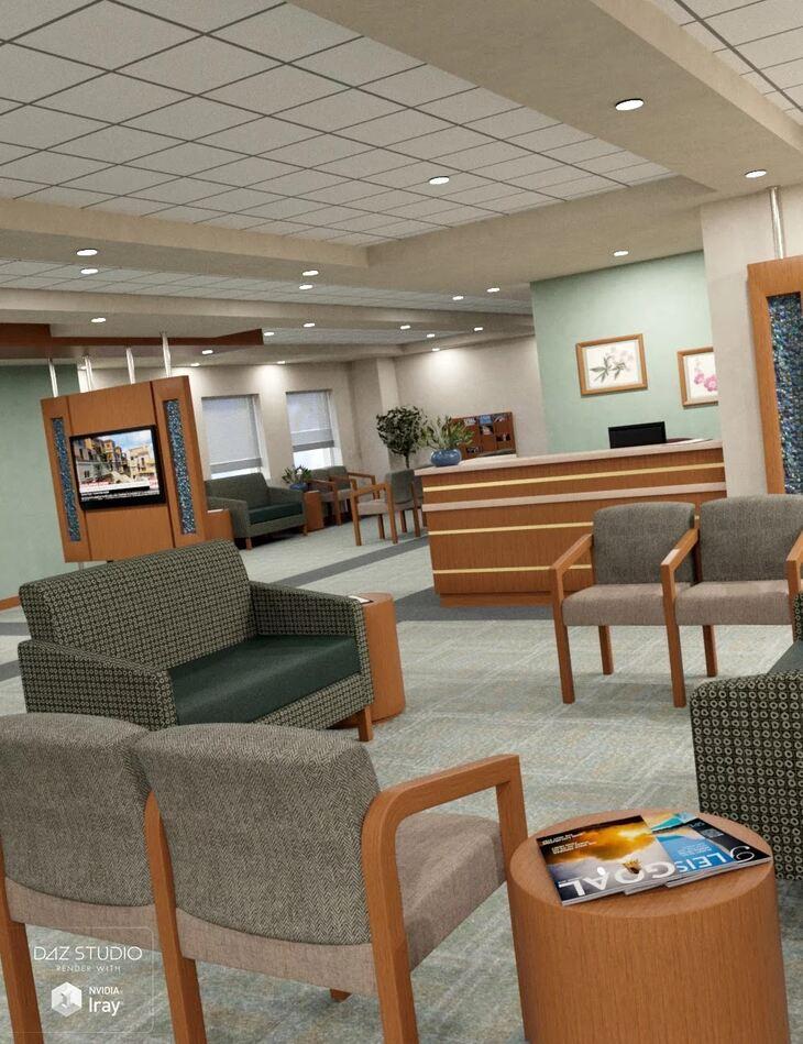 Medical Center Waiting Room