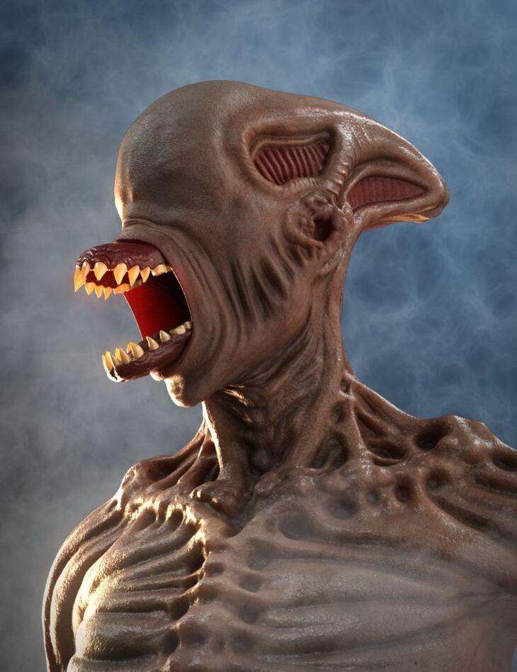 Mutation morphs HD for Genesis 8 Male