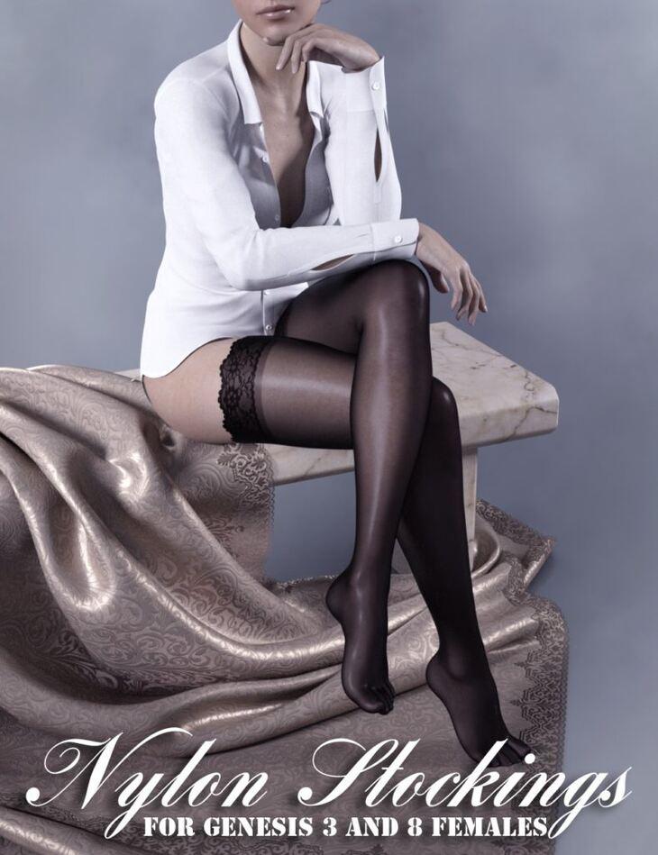 Nylon Stockings for Genesis 3 and 8 Females