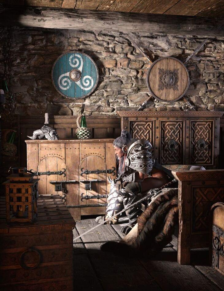 ROG Medieval Fantasy Bedroom