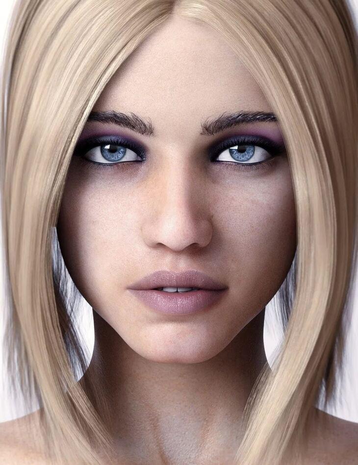 Rita HD For Genesis 8 Female