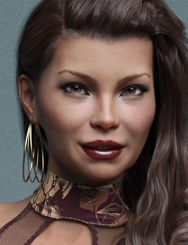 Tanis HD for Genesis 8 Female