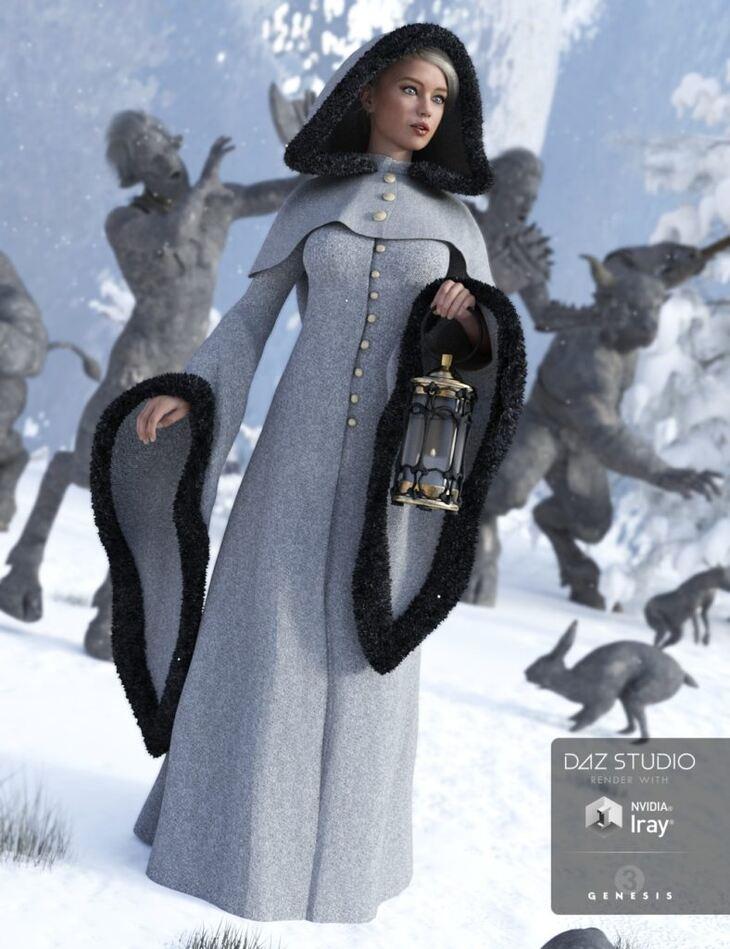 Winter Fantasy for Genesis 3 Female(s)