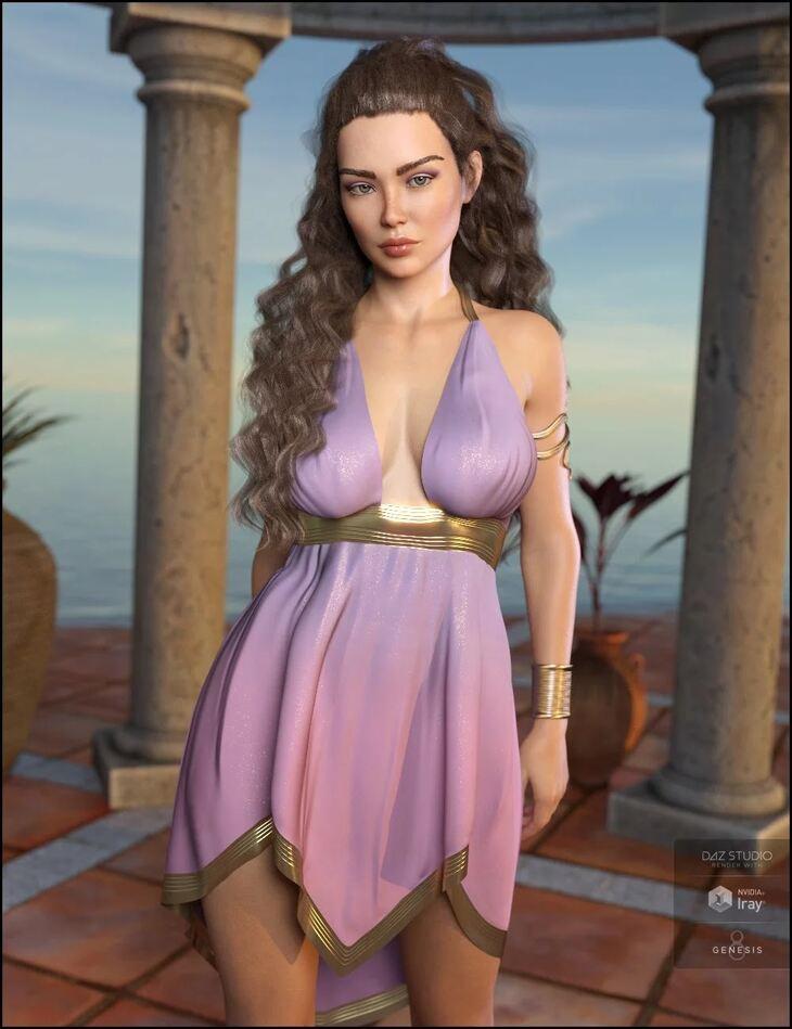 dForce Eleyna Outfit for Genesis 8 Female