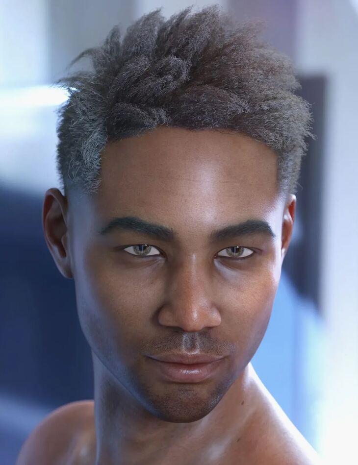dForce Saul Hair for Genesis 8