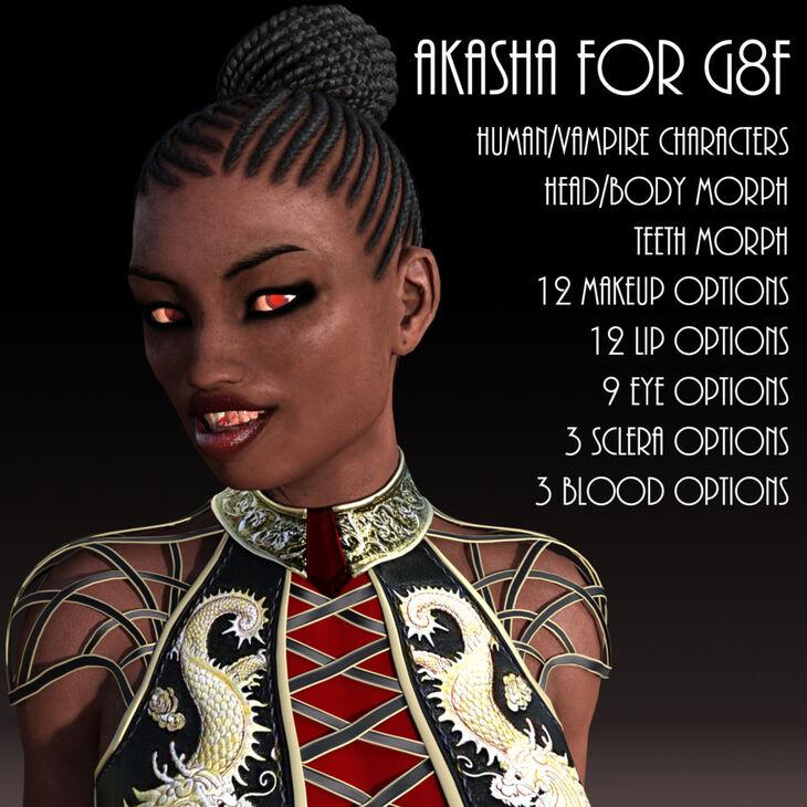 Akasha for G8F