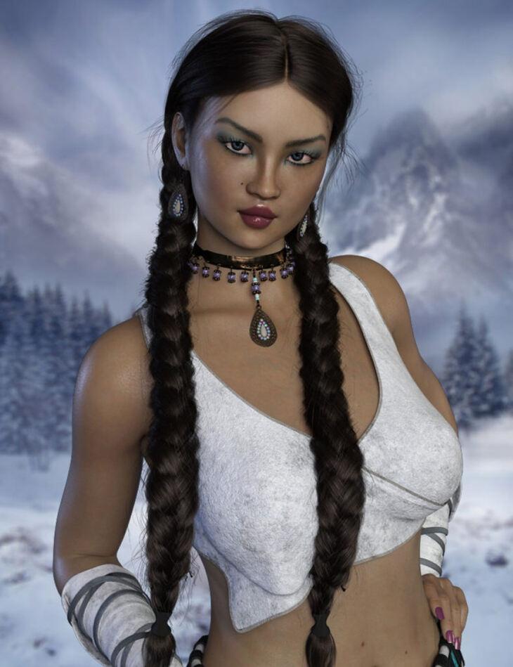 Alaska for Genesis 8 Female