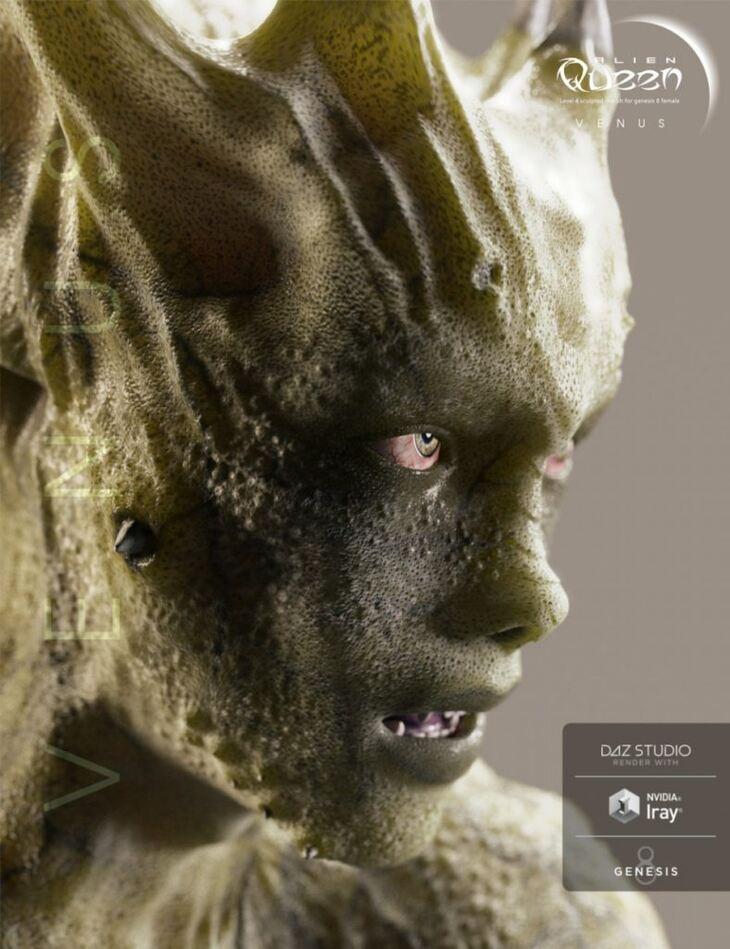 Alien Queen for Genesis 8 Female