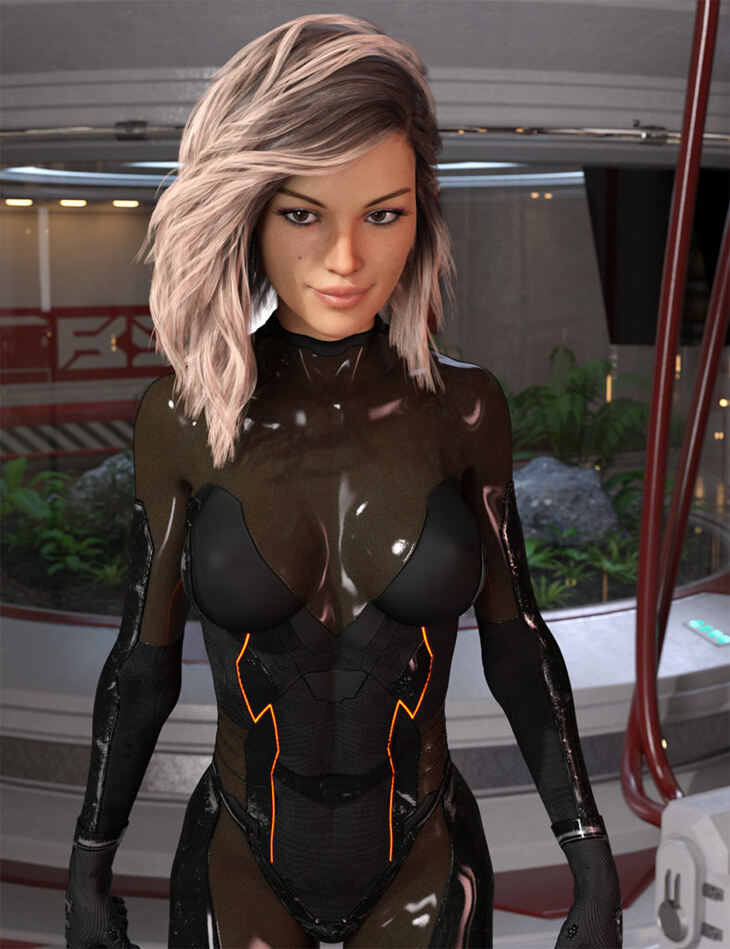 Alion Suit for Genesis 8 Female