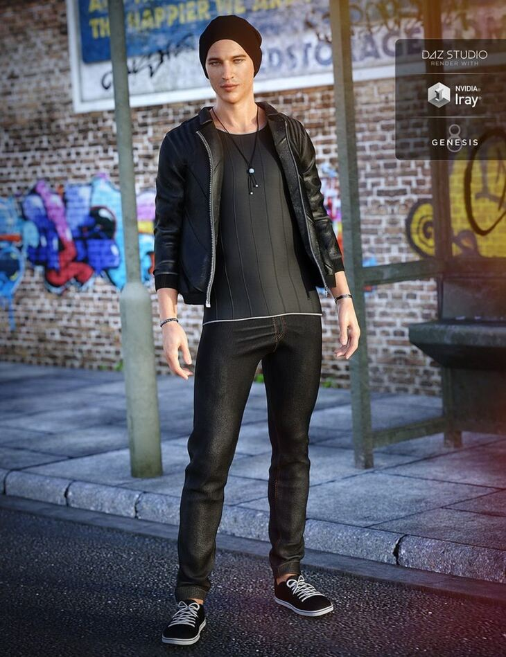 Alt Style Outfit for Genesis 8 Male(s)