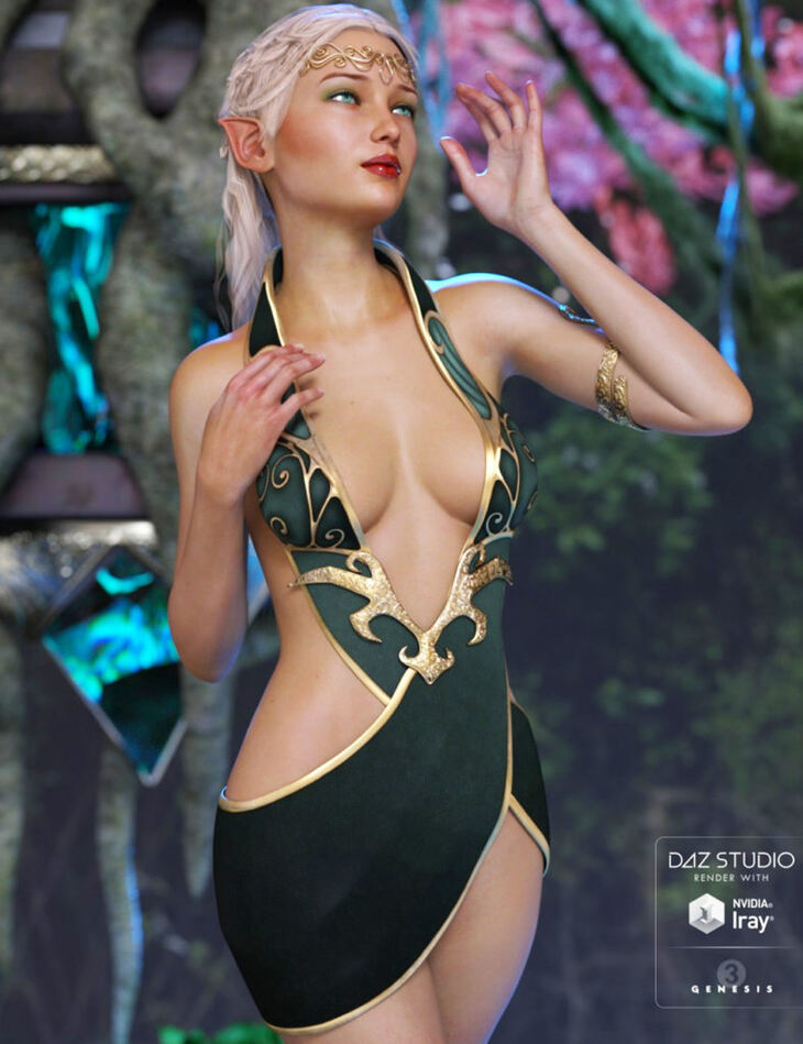 Althea Outfit for Genesis 3 Female(s)