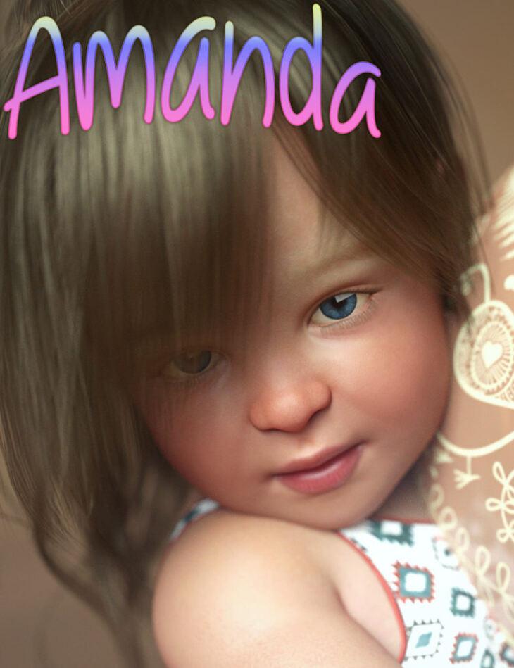 Amanda for Genesis 8 Baby - Render-State