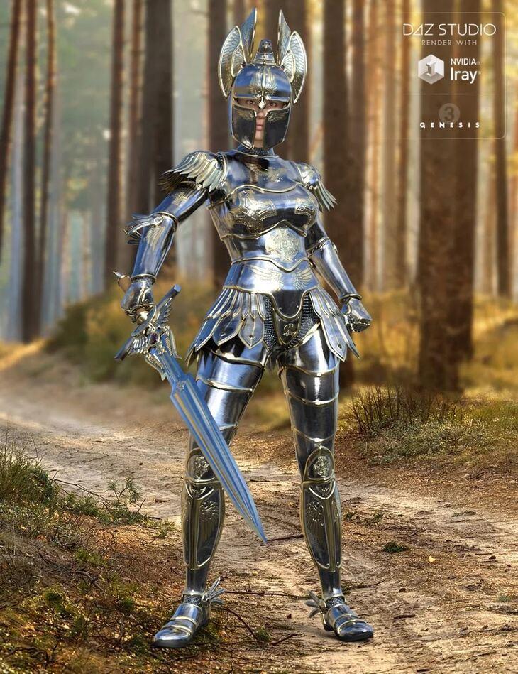 Angel Armor for Genesis 3 Female(s)