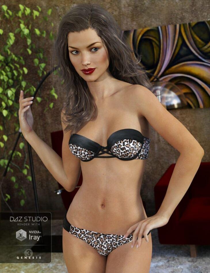 Bandeau Bikini for Genesis 3 Female(s)
