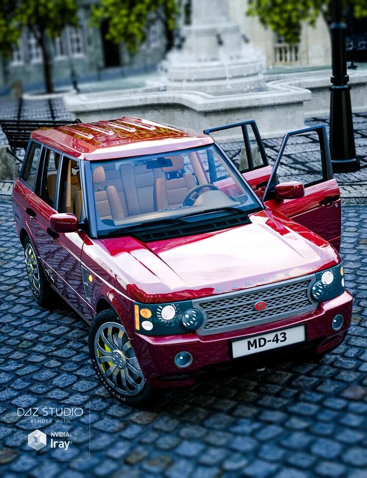 Car Ranger + Iray Addon