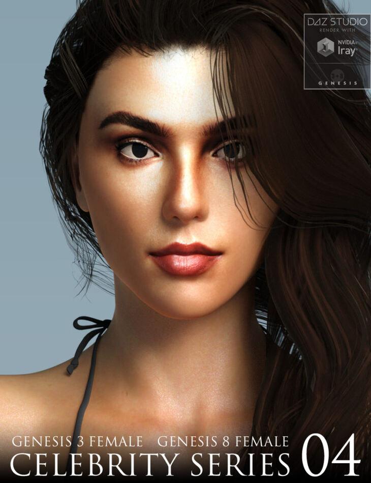 Celebrity Series 04 for Genesis 3 and Genesis 8 Female