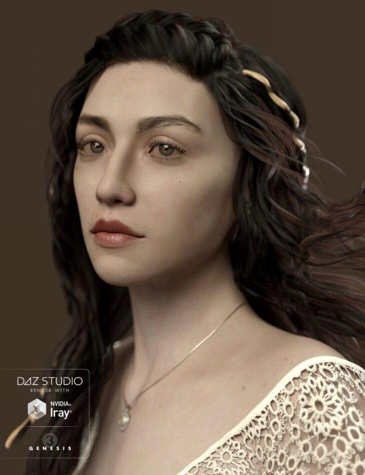 Ceridwen and Fantasy Skins for Genesis 3 Female