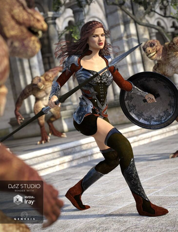 Champion Outfit for Genesis 3 Female(s)