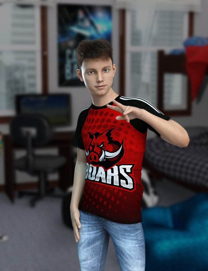 Connor HD for Genesis 8 Male