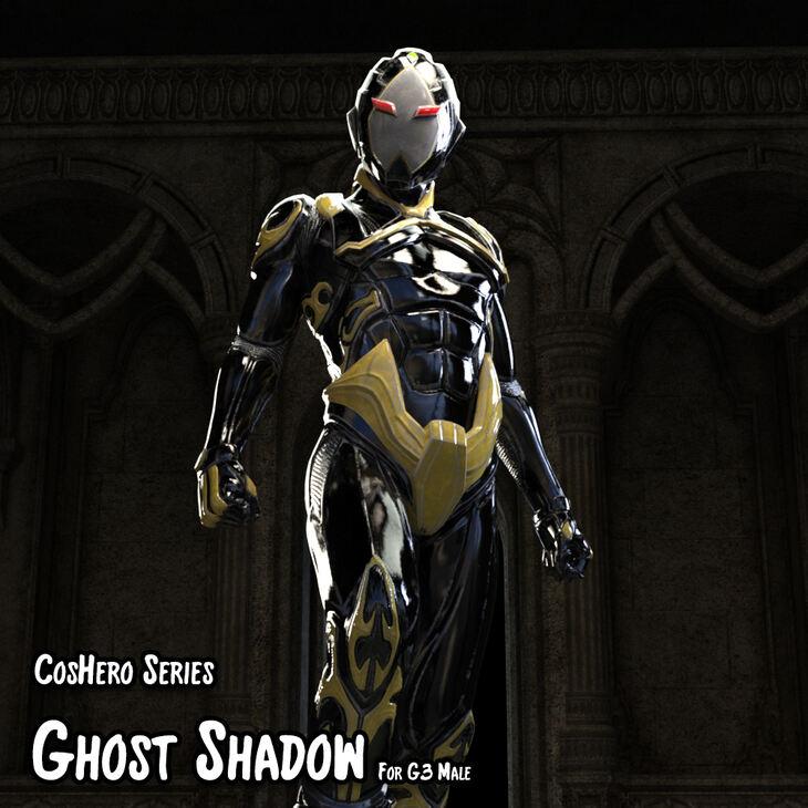 CosHeroSeries - GhostShadow Cloth Suit For G3 Male