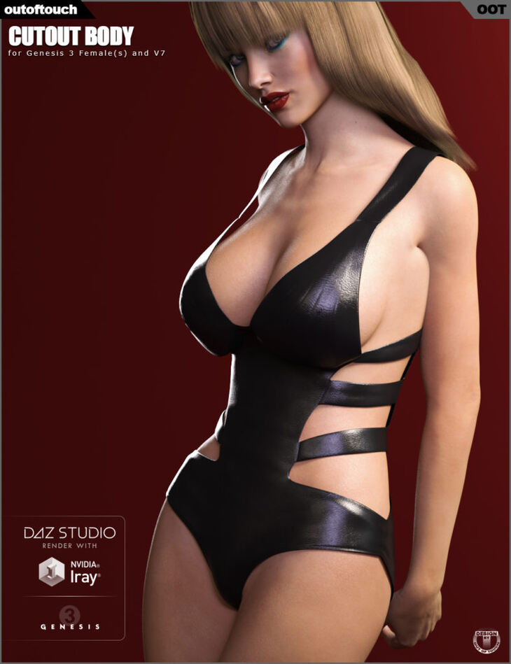 Cutout Body for Genesis 3 Females