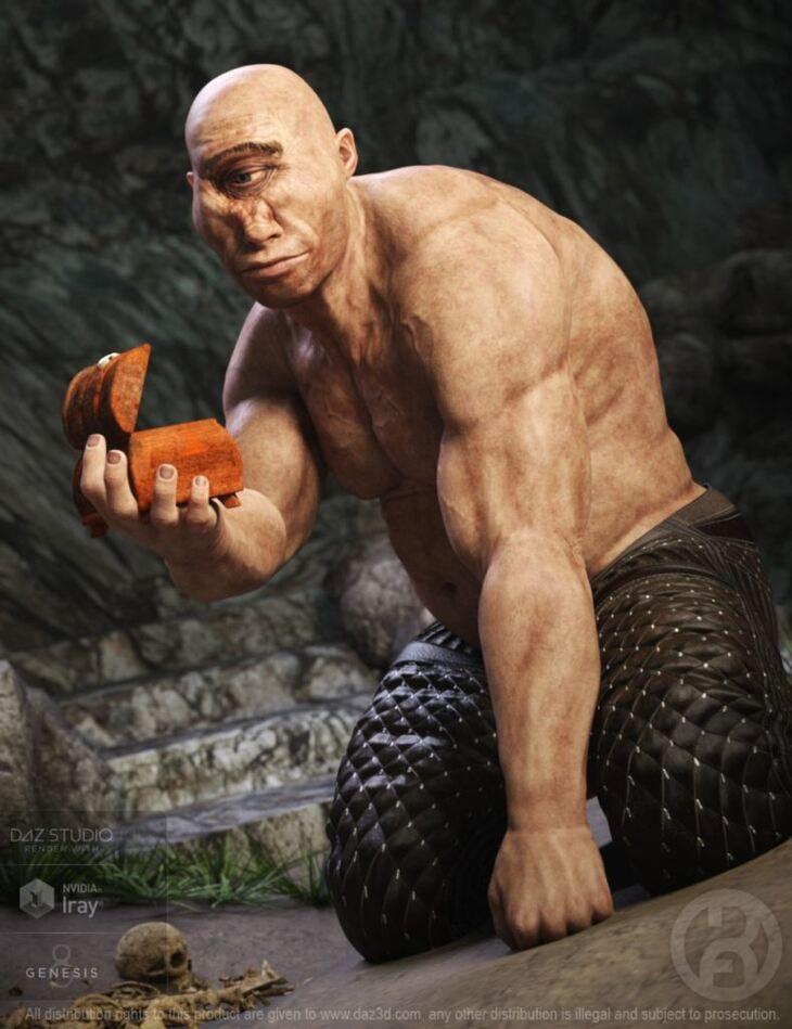 Cyclops for Genesis 8 Male