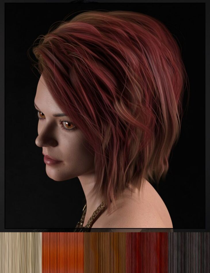 DG Iray 200 Hair Color Shaders and Merchant Resource
