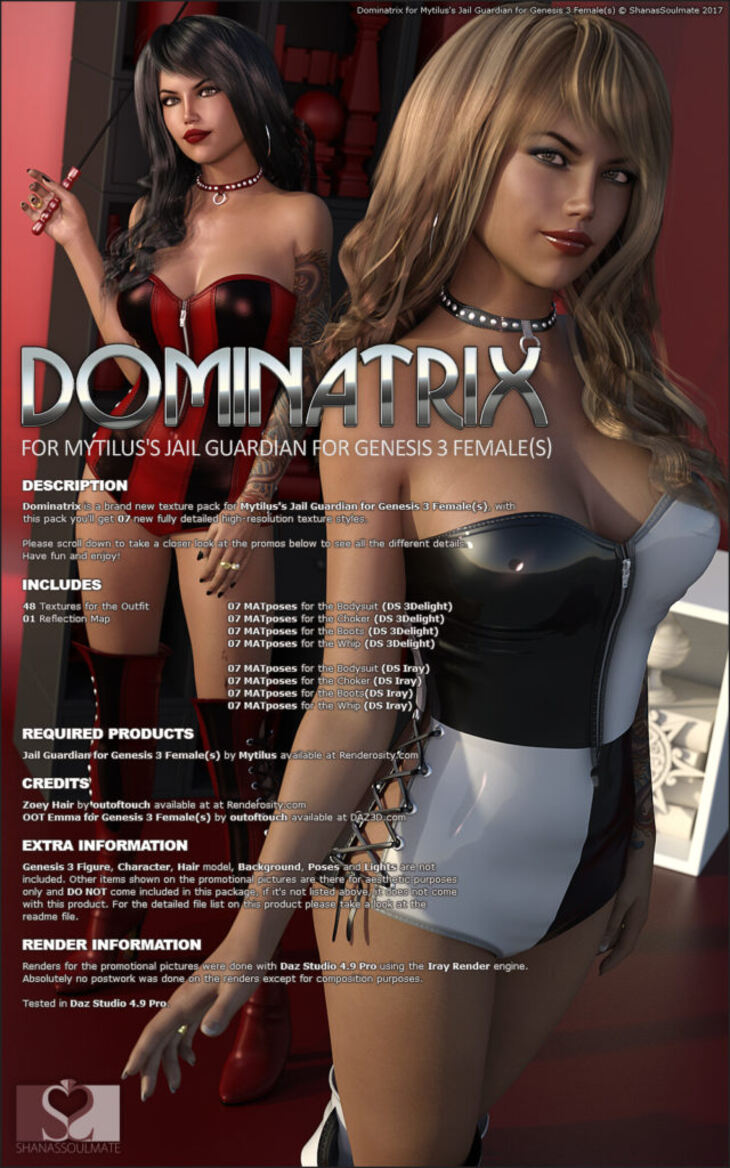Dominatrix for Jail Guardian