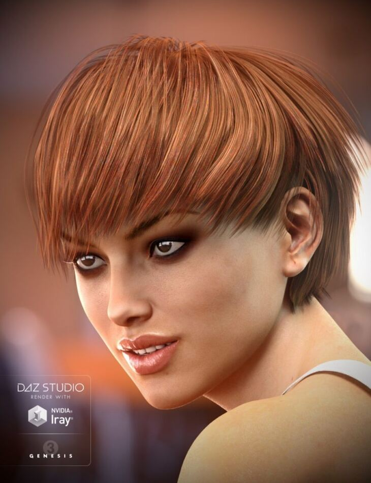 Dove Hair for Genesis 3 Female(s)
