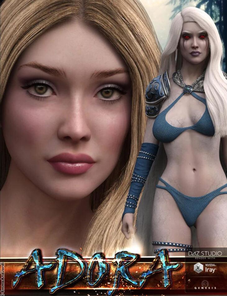 EJ Adora For Genesis 3 Female(s)