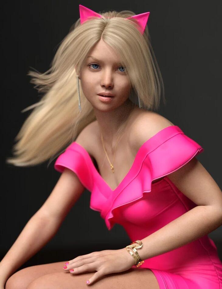 Elisabeta HD For Genesis 8 Female