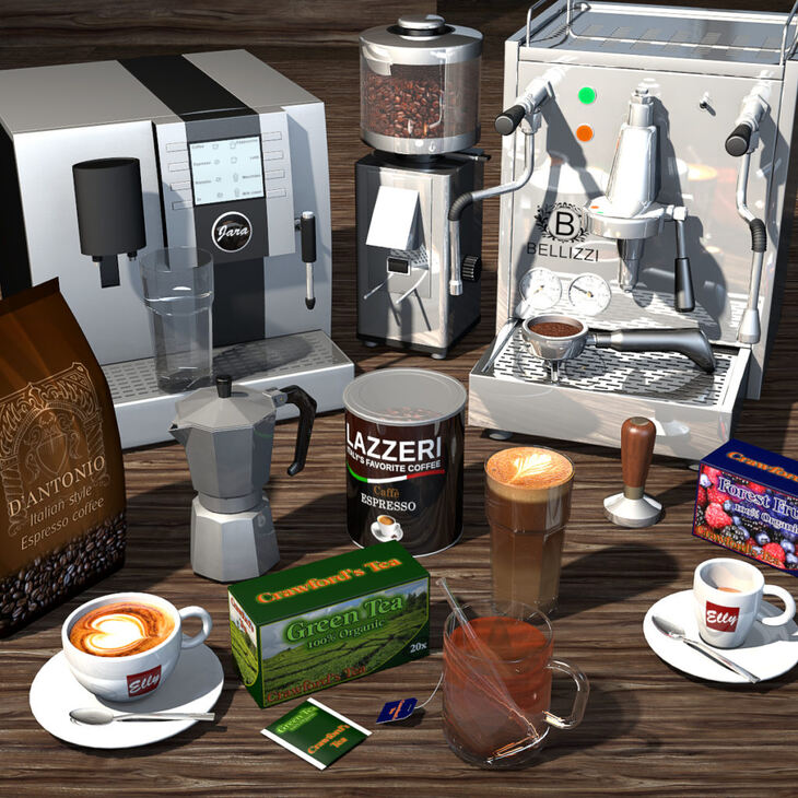 Everyday Items, Coffee and Tea