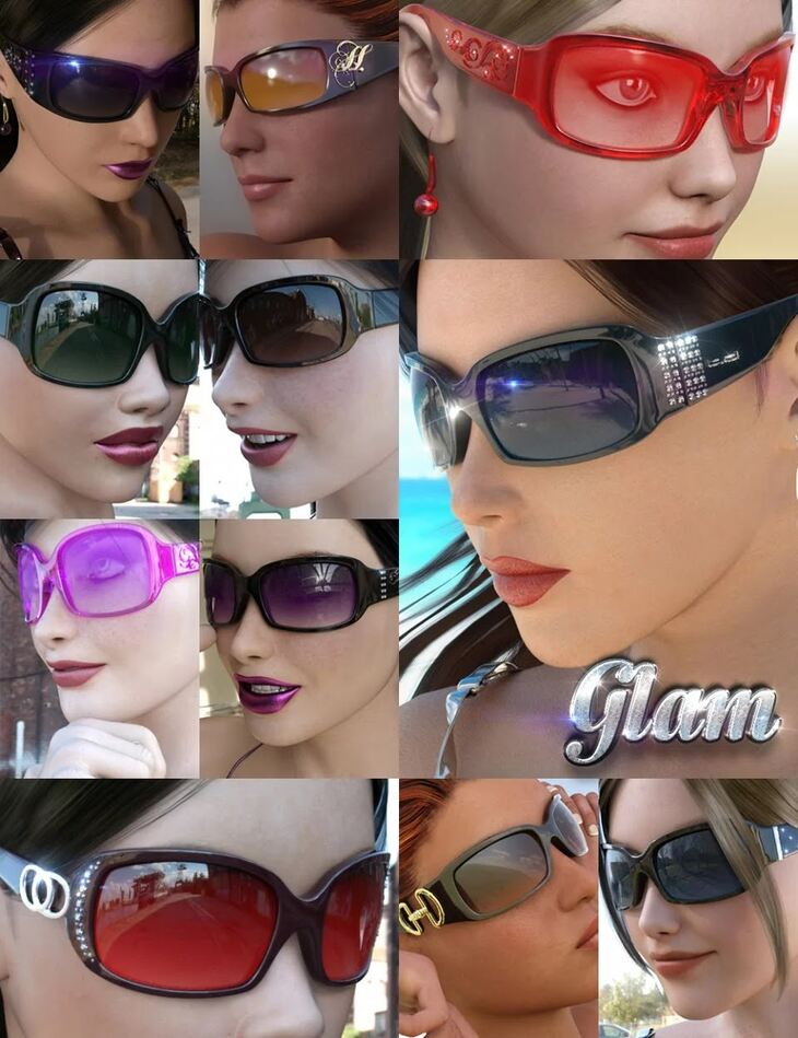 Eyewear Pack 3.0 - Glam