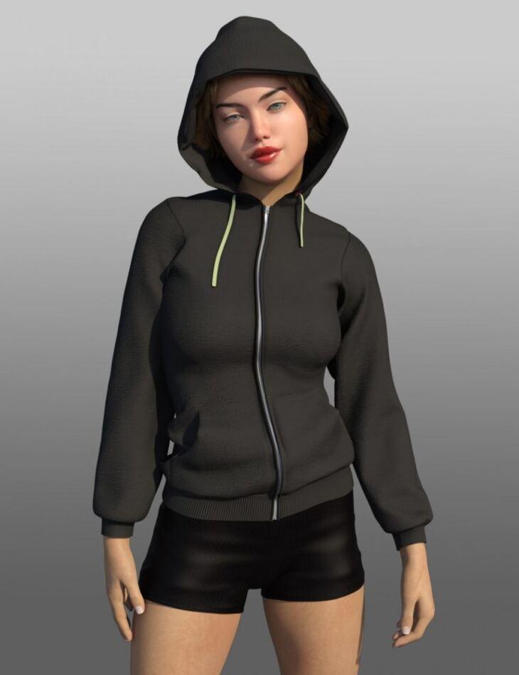 FG Mega Hoodie for Genesis 8 Female(s)