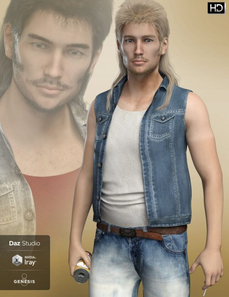 FWHP Buster HD for Genesis 8 Male