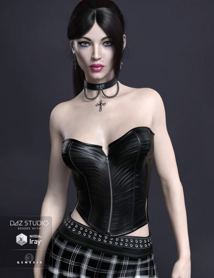 FWSA Chastity HD for Genesis 3 Female