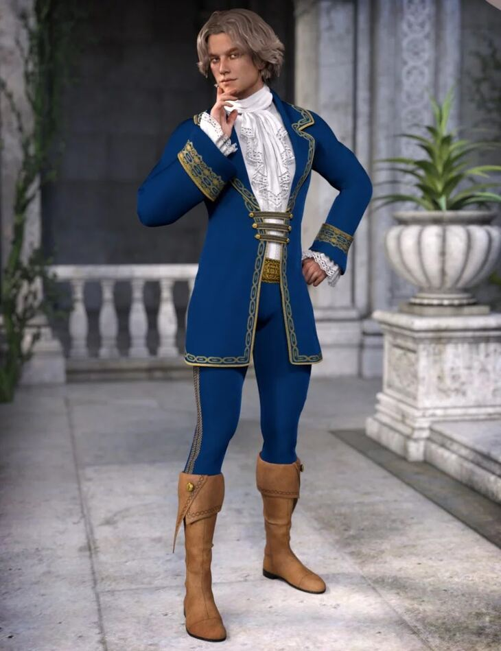 Fairytale Prince for Genesis 3 Male(s)