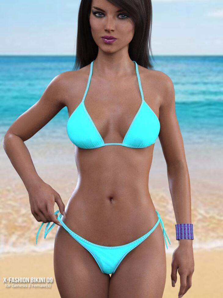 Fashion Bikini 09 for Genesis 3 Females