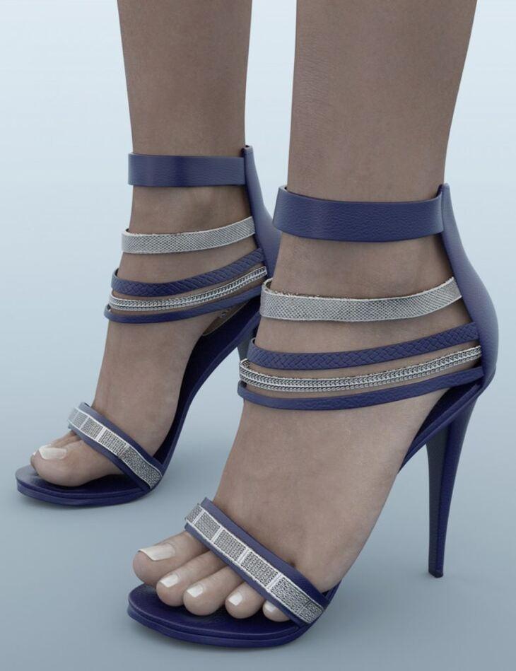 Fashion Hi Heels for Genesis 3 Female(s)