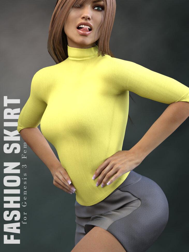 Fashion Skirt for Genesis 3 Females